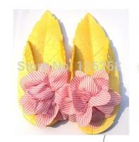 2014 Fashion leaves female flower slippers/beach sandals flip flops women shoes outsole summer slippers platform sandals  ZL5338