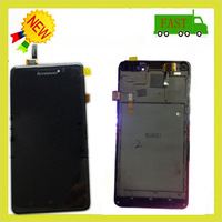 Original products Test Passed FOR Lenovo P780 LCD Display +touch Screen+frame Digitizer MTK6589 FREE tools Black Color
