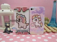 Free shipping+For iphone5 5s & 4 4s Sky horse The pony bao li phone cases for iphone 5 5s & 4 4s