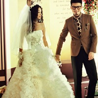 Diamond Flower Lace Wedding Dress Free Shipping-China Sales
