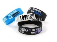 Retail !!! silicone bracelet --- DH6542