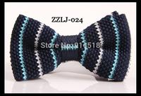 NEW 2014 MEN FASHION ACCESSORIES JACQUARD WOVEN STRIPPED PATTERN BUSINESS SILK NECKTIE bow TIE FOR MEN