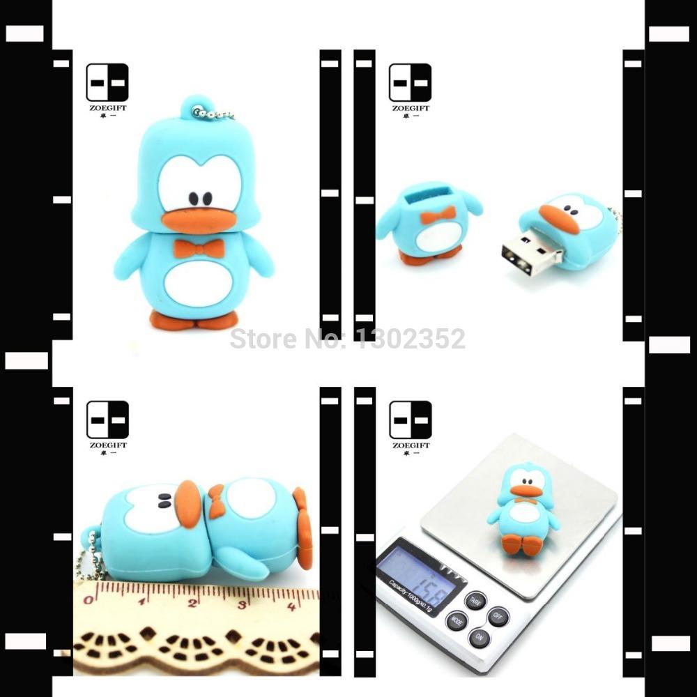 Novelty Duck USB Flash Drive Pendrive Memory Stick USB Key 128MB-64GB(China (Mainland))