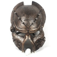 new ornament Predator Resin face mask Alien vs Predator AVP Mask helmet prom Masquerade party SIDESHOW props Costume adult