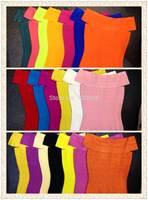 2014 New arrival Women's bandage tops many colors Dress HL Evening Dresses dropship wholesale