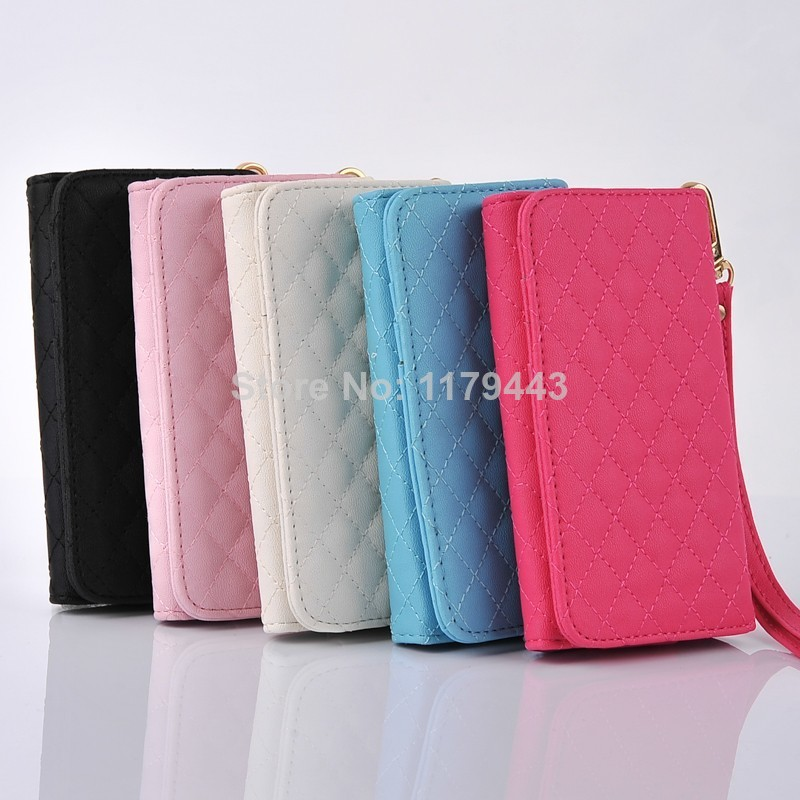Hot Sale Portable Flip Wallet Leather Case Cover for LG G2 VS980 at Verizon Free Shipping(China (Mainland))