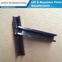 Guide Shoe Rail 125*20*10mm For Escalator & Elevator Spare part Factory