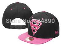 Wholesale Cheap New Hot Superman Snapback Hats adjustable Baseball Cap Hip-Hop Hat / Free Shiping 1Pcs