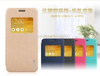 Free shipping 5pcs BEPAK cases for ASUS zenfone 5  ming series Flip leather case +5pcs screen protectors + Retail box