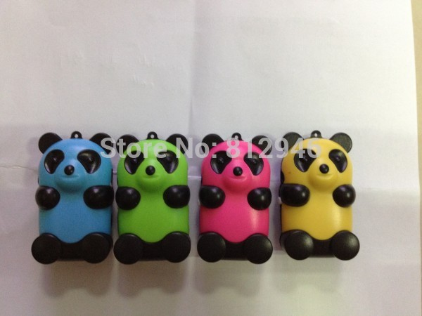 Cute Mini panda mp3,with card slot,support TOP 8GB , Micro SD/TF card,no tracking code,1pc(China (Mainland))
