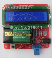 DIY KIT 2014 New Transistor Tester Capacitor ESR Inductance Resistor Meter NPN PNP Mosfet with box