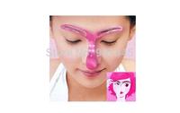 Free shipping! 6pcs/lot, makeup tool kits,Cosmetic tools,conveient perfect eyebrow shaping card (B099)