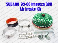 AIR INDUCTION KIT FOR 95 96 97 98 99 2000 SUBARU IMPREZA GC8 EJ20 POWER FLOWF AIR FILTER ADAPTER