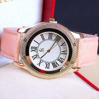 5 colors New Arrival Fashion High Quality Leather Strap Watch Women Dress Watch Quartz Watch 1piece/lot  BW-SB-817