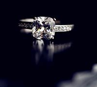 Austrian crystal close ShanZuan Dazzling luxury the princess ring
