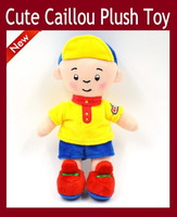 NEW Arrival Cute Cartoon Caillou Plush Toy Soft Plush Stuffed Figure Toy Doll Brinquedos Kids Baby Birthday Christmas Gift
