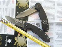 "Spyderco C156GPBN Brad Southard  3.46"" CTS-204P Carpenter Steel Blade Carbon Fiber Handle tactical folding knife Free shipping"