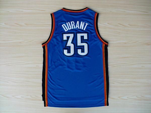 Oklahoma Thunders Kevin Durant Jersey #35 James New Rv30 Sleeveness Basketball Shirts Blue, White(China (Mainland))