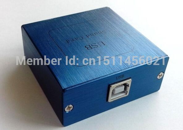 PCM2704 USB fiber optic coaxial analog output USB sound card decoding plate DAC USB Power free shipping(China (Mainland))