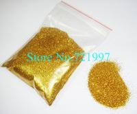 50g/bag Gold Color Shining Nail Glitter Dust Powder for Nail Art DIY decoration