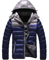 2014 new winter Men's brand sports cotton-padded clothes,sport down jacket , outwear coat , men's outdoor coats, winter colthing