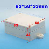 NEW waterproof Plastic Project Box Instrument Enclosure DIY - 83x58x33mm(L*W*H)