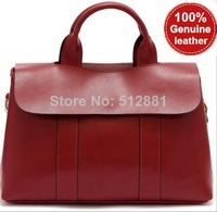 NEW 2014 Genuine Leather Bags ladies' handbag Handbags bolsas femininas Vintage Handbag for ladies Tote Shoulder Bag
