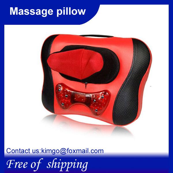 Free shipping,Wholesale and Retail,Walmart Car&Chair Back Seat massage Heated Cushion(China (Mainland))