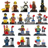 2014 The Movie Figures 16pcs/lot LELE Minifigures Building Blocks Sets Model Bricks Toys For Children