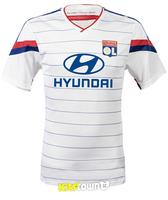 A+++ 2014 France Lyon Soccer New Jersey Thailand Olympique Lyonnais 14/15 Home Futbol Shirt Maillot De Foot Blouse