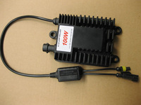 Free Shipping  slim Hid xenon ballast  100W  12V  electronic ballast  Thin section  black