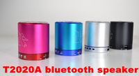 T2020A Angel bluetooth Speaker Card USB Speaker computer phone MP3 player metal material 10pcs free shipping