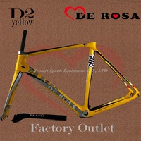 2014 NEW de rosa 888  super king  Carbon ROAD Bike frames COLOR Yellow   D2,free shipping
