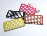 Fashion Woman Lady Faux Leather Bifold Card Holder Clutch Bag Wallet Purse 818A
