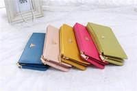 louis clutch new large-capacity multi-card bit OL ladies fashion clutch bag purse wallet  louis clutch maneki neko