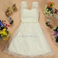 Fashion wedding party dress toast clothing convertible  2014