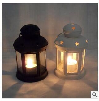 vela de vidro do casamento suporte de vela gaiolas decorativas do pássaro do Natal acessórios presentes de metal titulares janela lanterna vintage para(China (Mainland))