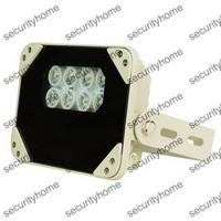 100M 8 Pcs Array LEDs IR Illuminator 850nm for CCTV Security cameras 14w IP66