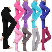 New 2014 Summer and Autumn Plus Size Women Pants Sports Yoga Pants Square Dance Pants S-XXXL Free Shipping