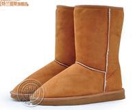FREE SHIPPING Warm Leather AUSTRALIAN platform WINTER BOOTS WOMEN 5815# SHEEPSKIN Classic Tall SNOW BOOTS FOR GIRLS