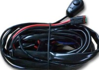 LED light bar wire harness for one pieces