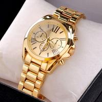Luxury Fashion Watch Women Ladies Watches Quartz Calendar WATCHES ROSE GOLD STAINLESS STEEL WATCH  Drop Shipping