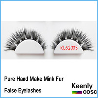 Fastest Shipping! Curl mink fur lashes individual mink lash extension bunch mink false eyelash winged extension 10 pairs/box