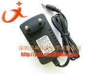 50pcs/lot  AC 100-240V to DC 12V 2A Power Adapter Supply Charger DC Plug 5.5x2.1mm For LED Strips Light EU Plug