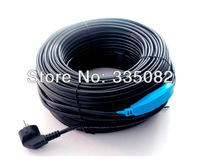 48M Long Anti- freeze pipe heating cable pipe frost protection heating cable HIgh quality free shiiping