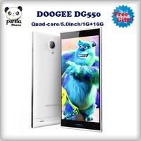 Original DOOGEE DAGGER DG550 5.5' IPS OGS MTK6592 Octa Core Octacore 1.7GHz Cell Phone 1GB+16GB 13.0MP 3G GPS