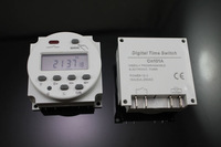FREE shipping DC 12V Digital LCD Power Programmable Timer Time switch Relay 16A *