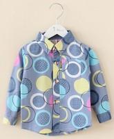 Kid Shirt Cotton Jean Shirt Kids Clothes Blouse Baby Coat Casual Denim Shirt Boy  Shirt