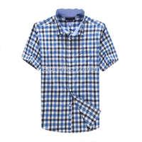 Brand men's casual shirt 2014 new formal shirts dress Slim fit shirts Dudalina camisas hombre men short sleeve shirt clothing