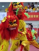 lion dance props